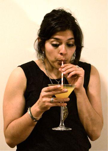 Natalie Drinking