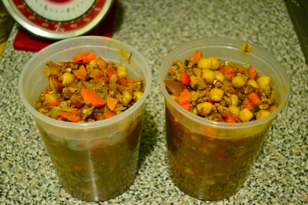 Spicy Lamb and Chickpea Chili | Chocolate and Chiles